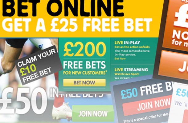 Get the latest news on sports betting free bets